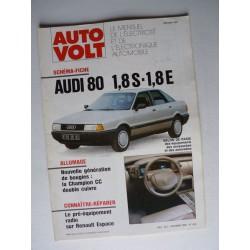 Auto Volt Audi 80 1.8S, 1.8E (B3)