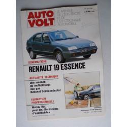 Auto Volt Renault 19 phase 1, essence