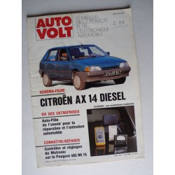 Auto Volt Citroën AX 14 Diesel, phase 1