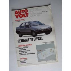 Auto Volt Renault 19 phase 1, Diesel