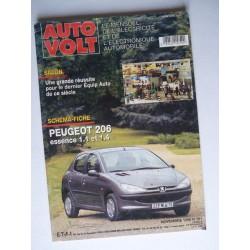 Auto Volt Peugeot 206 phase 1, essence