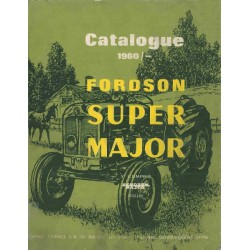 Fordson Major et Super Major, catalogue de pièces