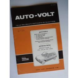 Auto Volt Renault Supercinq GTL, GTS, TSE