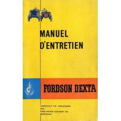 Forson Dextra, notice d'entretien