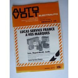 Auto Volt Renault 20 L, TL, GTL
