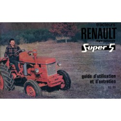 Renault Super 5, notice d'entretien