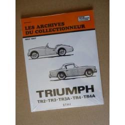 Les Archives Triumph TR2, TR3, TR3A, TR4, TR4A
