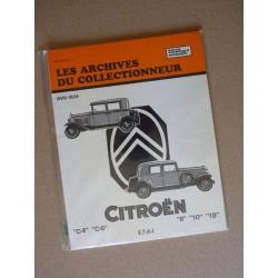 Les Archives Citroën C4, C6, Rosalie