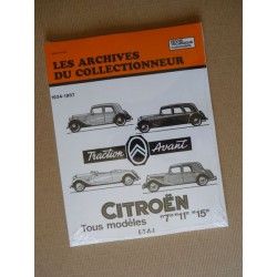 Les Archives Citroën Traction Avant 7, 11 et 15
