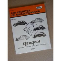 Les Archives Peugeot 202, 302, 402