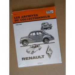 Les Archives Renault 4cv 1946-60