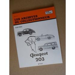 Les Archives Peugeot 203