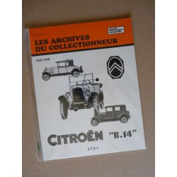 Les Archives Citroën B14