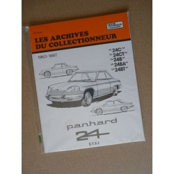 Les Archives Panhard 24 C, CT, B, BA, BT