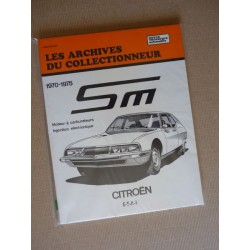 Les Archives Citroën SM
