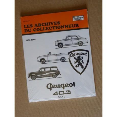 Les Archives Peugeot 403