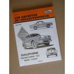 Les Archives Renault Dauphine, Ondine, Floride, Gordini