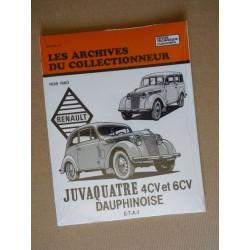Les Archives Renault Juvaquatre et Dauphinoise