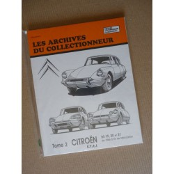 Les Archives Citroën DS19, DS20, DS21