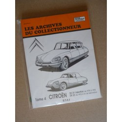 Les Archives Citroën DS21 ie, DS23