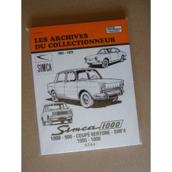Les Archives Simca 1000