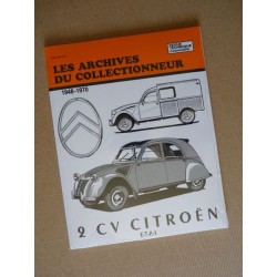 Les Archives Citroën 2cv de 1948-70