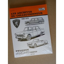 Peugeot 404, berline, camionnette, Les Archives du Collectionneur RTA