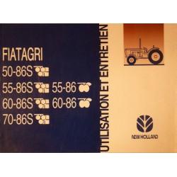 Fiatagri 50-86, 55-86, 60-86, 70-86, notice d'entretien
