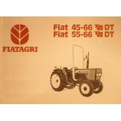 Fiatagri 45-66DT et 55-66DT, notice d'entretien