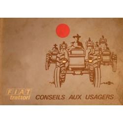 Fiat 250, 350, 450, 550, notice d'entretien