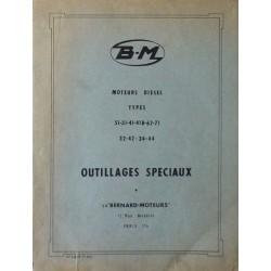 Bernard-Moteurs, outillage spéciaux moteurs Diesel