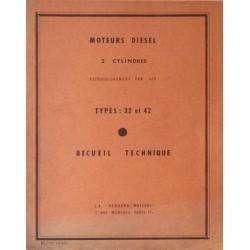 Bernard-Moteurs 32 et 42, manuel de réparation