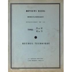 Bernard-Moteurs 31, 41, 62, 71, manuel de réparation