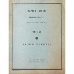 Bernard-Moteurs 51, manuel de réparation