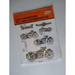 Les Archives Terrot, Magnat Debon 100 à 500 cm3, 1947-58