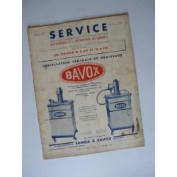 Service Delage D6 60 et D6 70