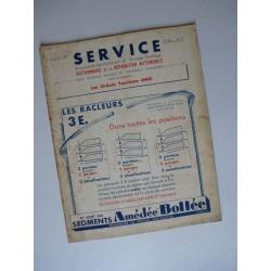 Service Unic U4D et U6C