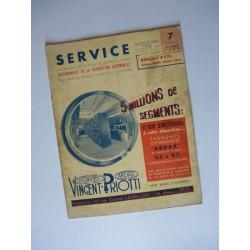 Service Renault Mona, Celta, Prima, Viva 4 cylindres 1931-39