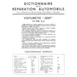 Manuel Jeep GPW et MBW