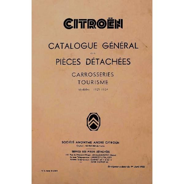 citro n c4 c6 et rosalie catalogue de pi ces carrosseries. Black Bedroom Furniture Sets. Home Design Ideas