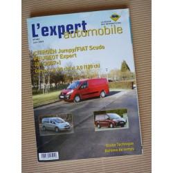 L'EA Citroën Jumpy II, Peugeot Expert II, Fiat Scudo II