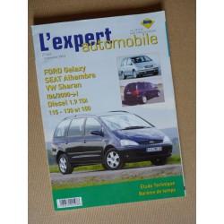 L'EA Ford Galaxy II, Seat Alhambra I, VW Sharan 1A Diesel
