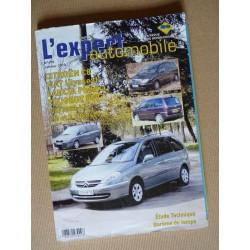 L'EA Peugeot 807, Citroën C8, Fiat Ulysse II, Lancia Phedra