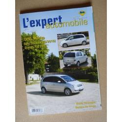 L'EA Opel Meriva A, phase 2, Diesel