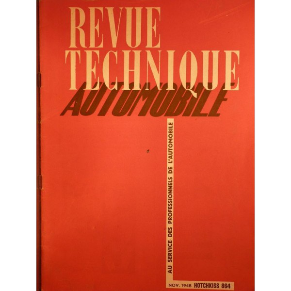 rta revue technique automobile hotchkiss 13cv 864  480  486