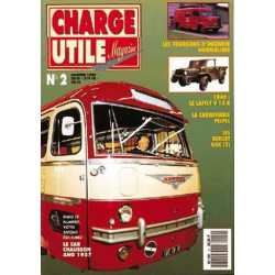 Charge Utile n°2, Berliet GAK, Ford F5 USAF, Meili Flex, Laffly V15, Cournil, Chausson AN ANG, Bonnet Louis