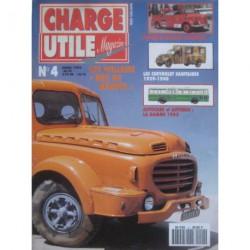 Charge Utile n°4, Delahaye, Hotchkiss PL25, St-Chamond, Sinpar, Chevrolet, Renault-Sinpar Gruss