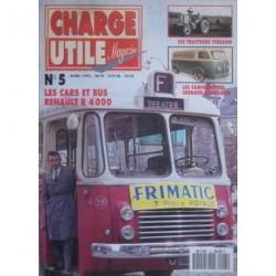 Charge Utile n°5, Ford-Thames, SFV, R4190, Latil TL et M17, Mack, SFV, Berliet GD, Hotchkiss-Guinard
