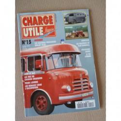 Charge Utile n°15, Citroën TUC, Goélette, Bernard, Renault, Chausson AP48, Stradair Amiot, Sonacome, Lamy