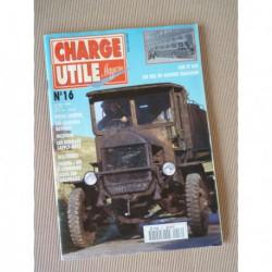 Charge Utile n°16, Laffly ABL15, Renault, Chausson AP, Dewald, Lamy